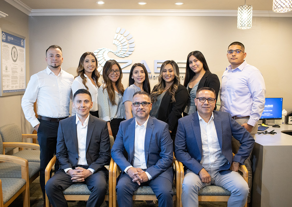 ZABE Mortgage Group complete staff photo