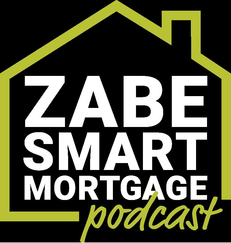 ZABE Smart Mortgage Podcast green and white logo